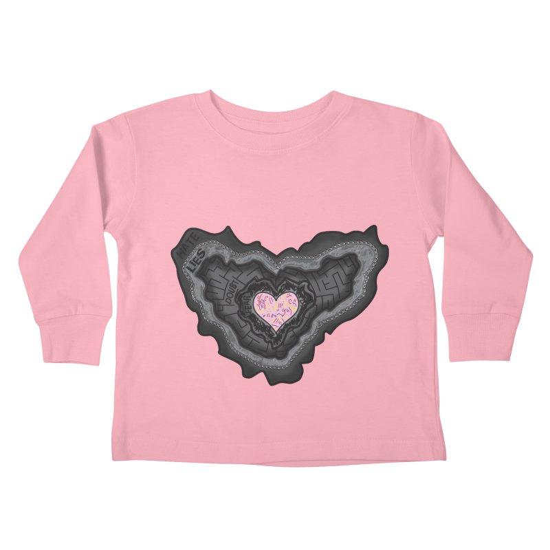 Hard Shell Kids Toddler Longsleeve T-Shirt by Lanky Lad Apparel