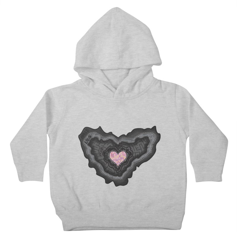 Hard Shell Kids Toddler Pullover Hoody by Lanky Lad Apparel