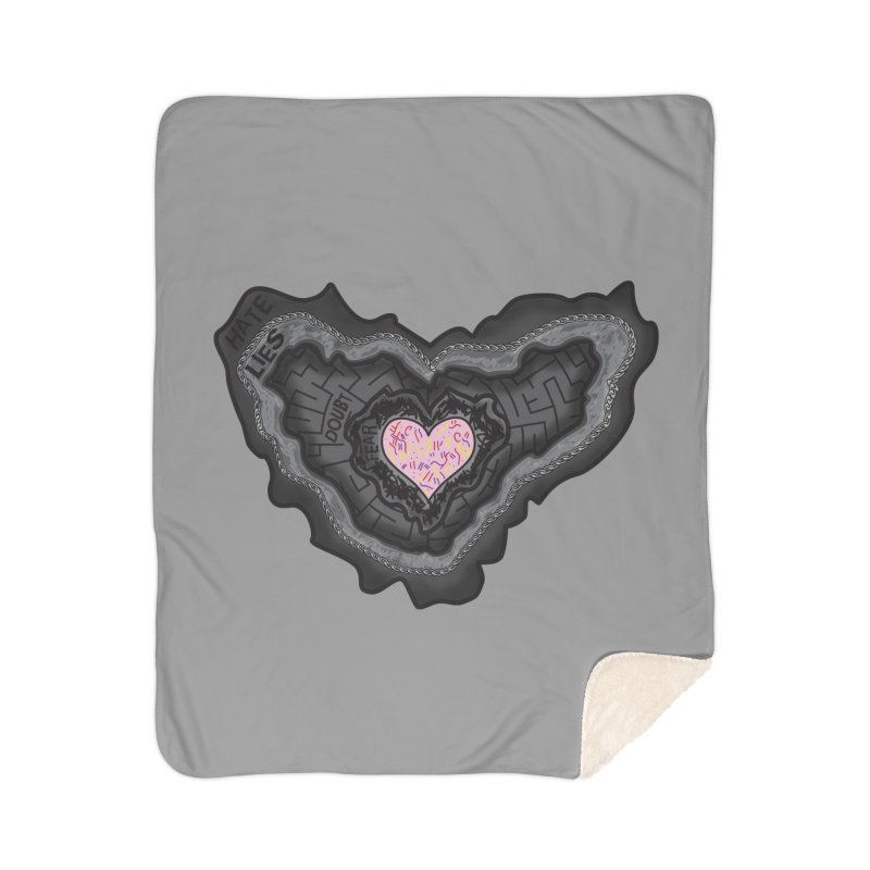Hard Shell Home Blanket by Lanky Lad Apparel