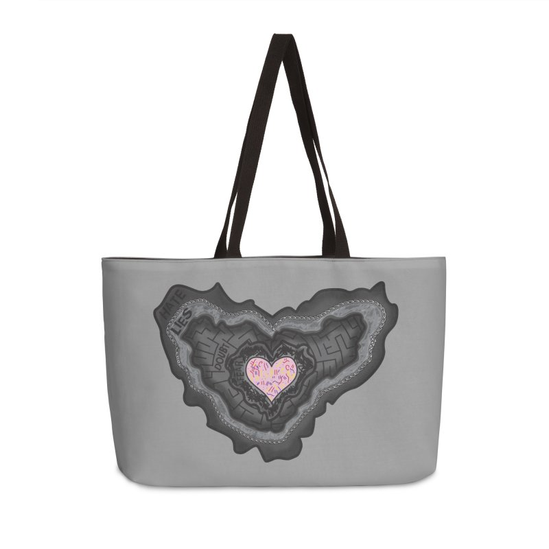Hard Shell Accessories Bag by Lanky Lad Apparel