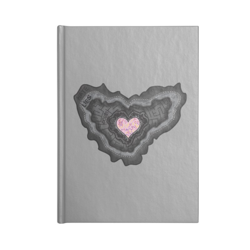 Hard Shell Accessories Notebook by Lanky Lad Apparel