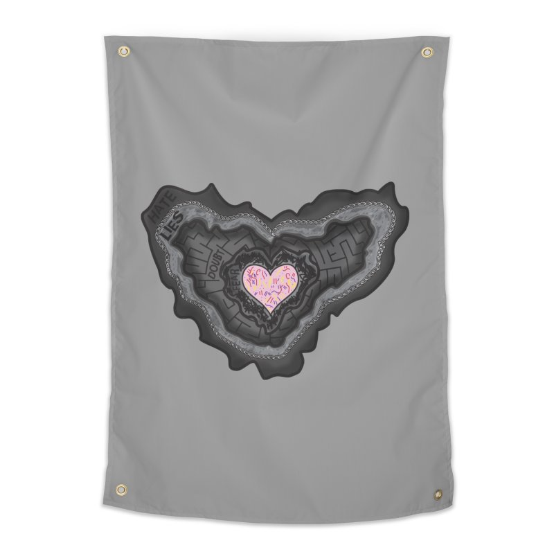 Hard Shell Home Tapestry by Lanky Lad Apparel