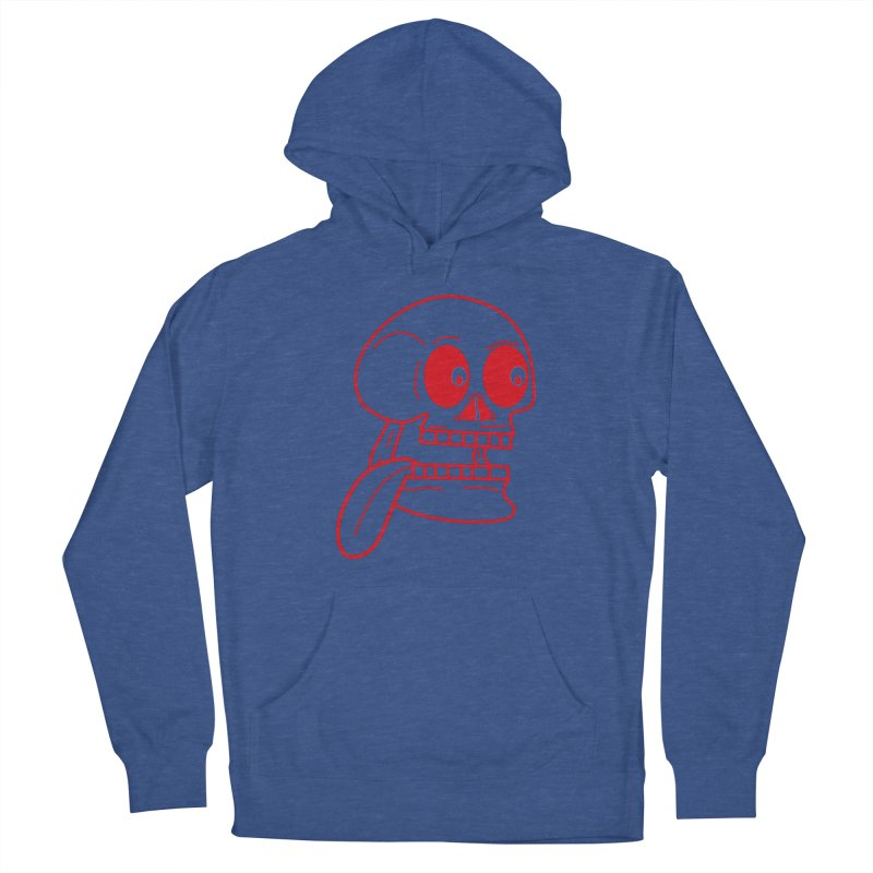 The Eager Skeleton Women's Pullover Hoody by Lanky Lad Apparel