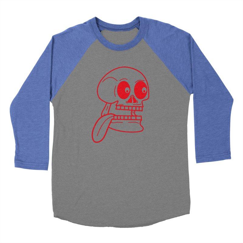 The Eager Skeleton Women's Longsleeve T-Shirt by Lanky Lad Apparel