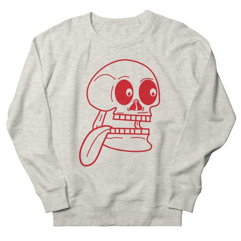 The Eager Skeleton Men's Sweatshirt by Lanky Lad Apparel