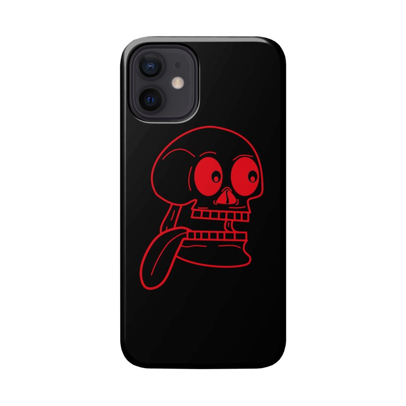The Eager Skeleton Accessories Phone Case by Lanky Lad Apparel