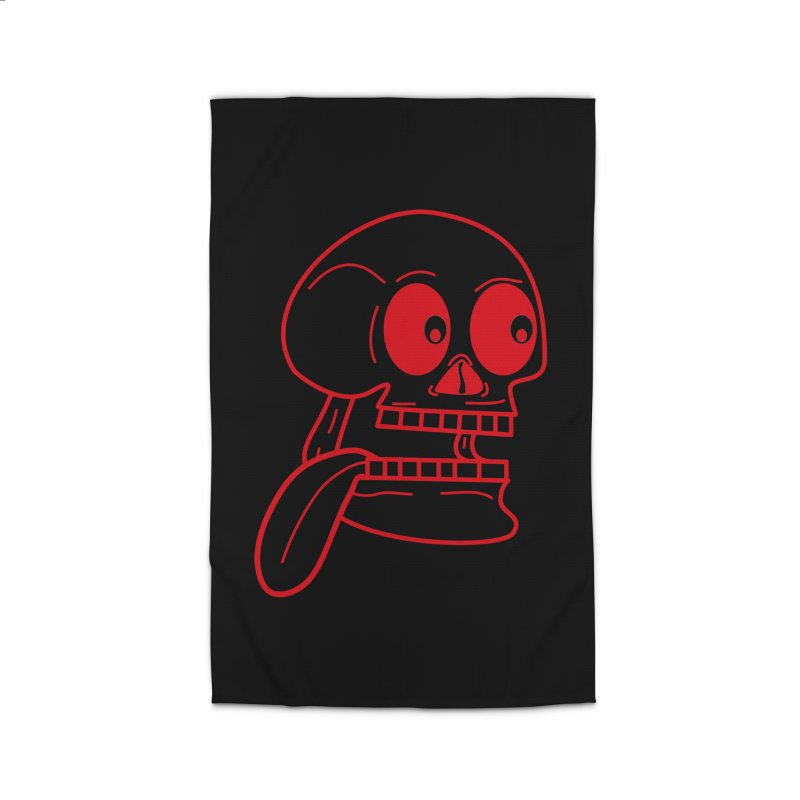 The Eager Skeleton Home Rug by Lanky Lad Apparel