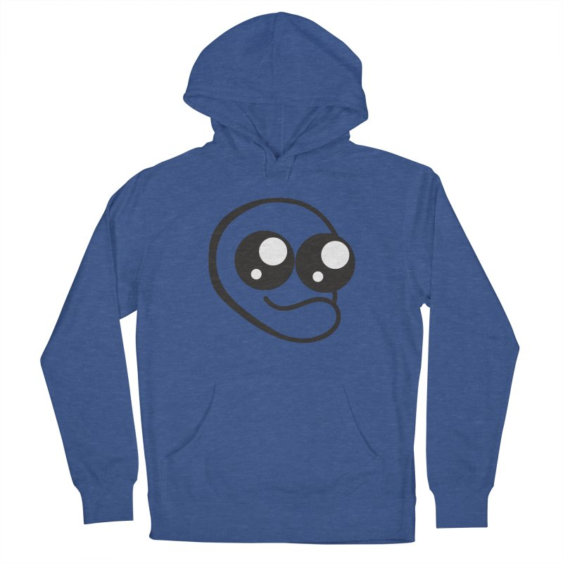 The Wide Eyed Lad Men's Pullover Hoody by Lanky Lad Apparel