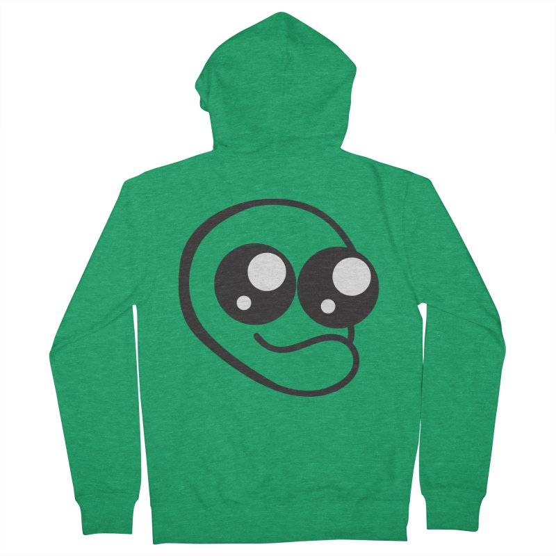 The Wide Eyed Lad Men's Zip-Up Hoody by Lanky Lad Apparel