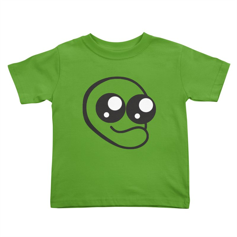 The Wide Eyed Lad Kids Toddler T-Shirt by Lanky Lad Apparel