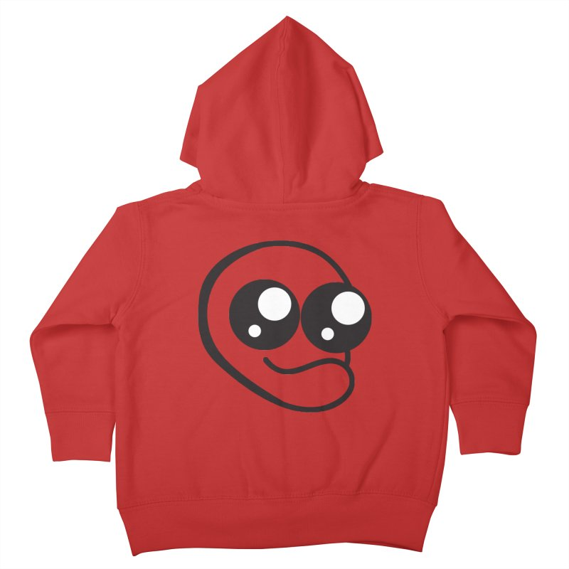 The Wide Eyed Lad Kids Toddler Zip-Up Hoody by Lanky Lad Apparel