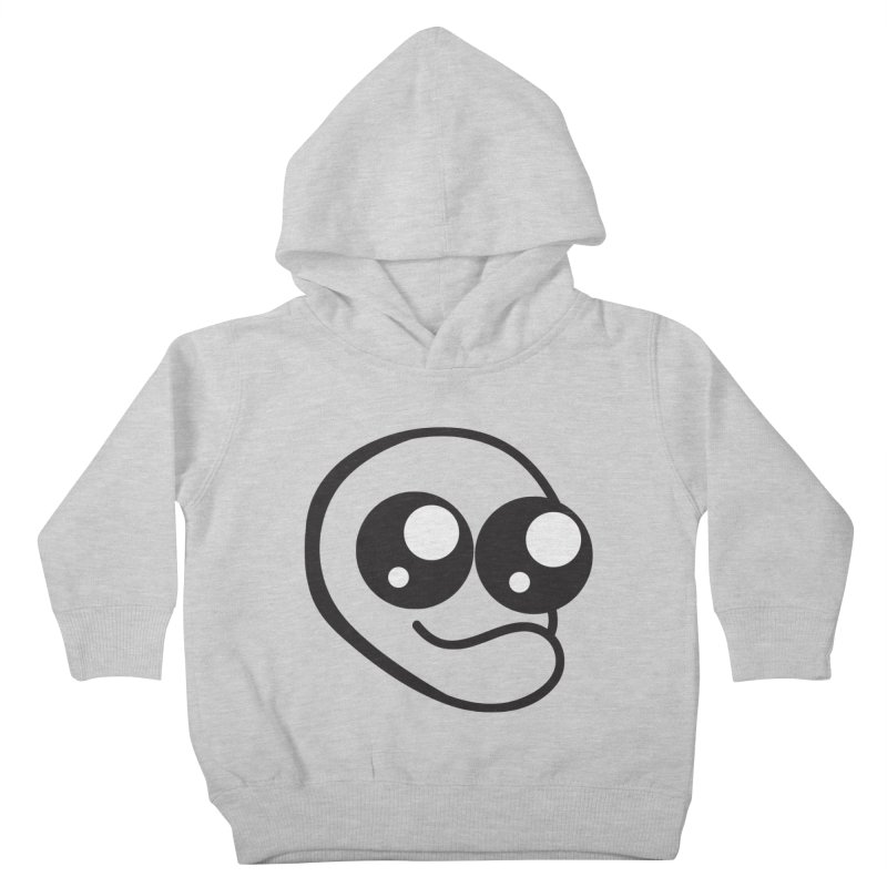The Wide Eyed Lad Kids Toddler Pullover Hoody by Lanky Lad Apparel