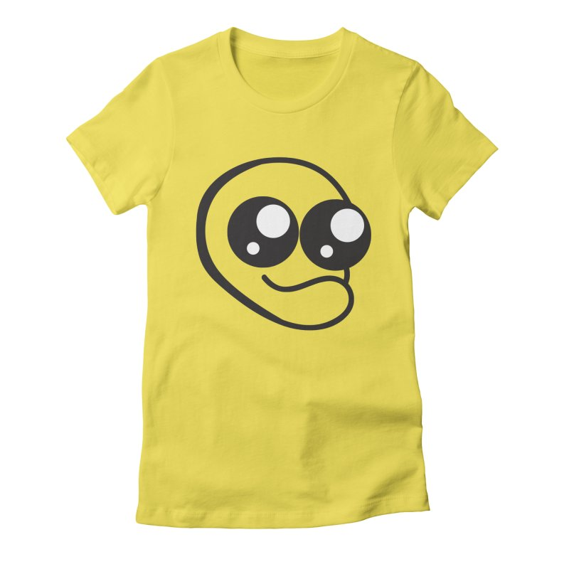 The Wide Eyed Lad Women's T-Shirt by Lanky Lad Apparel