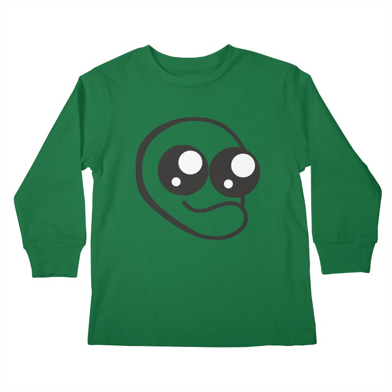 The Wide Eyed Lad Kids Longsleeve T-Shirt by Lanky Lad Apparel