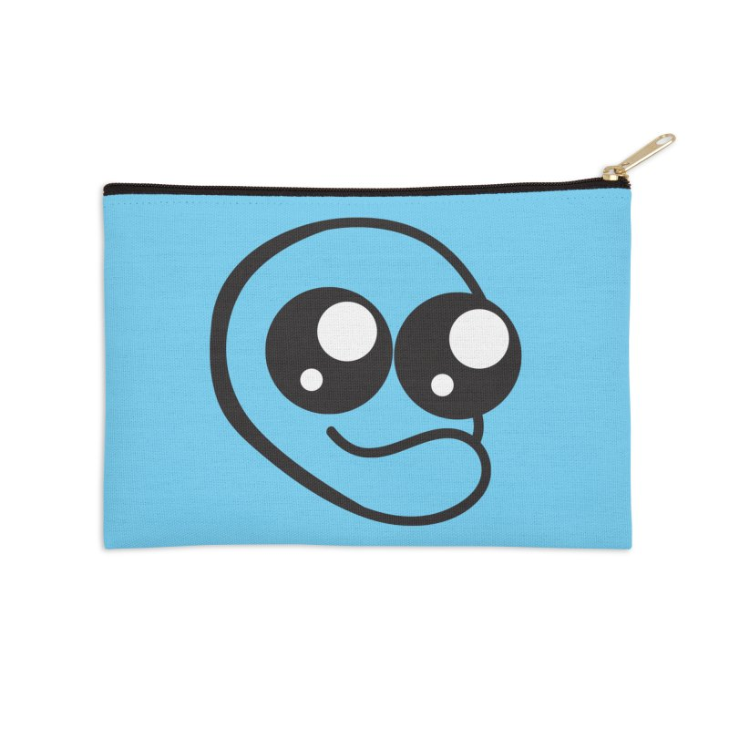 The Wide Eyed Lad Accessories Zip Pouch by Lanky Lad Apparel