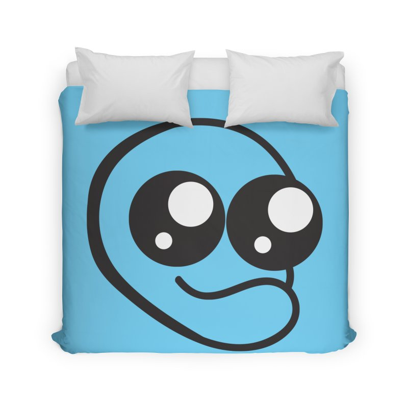 The Wide Eyed Lad Home Duvet by Lanky Lad Apparel