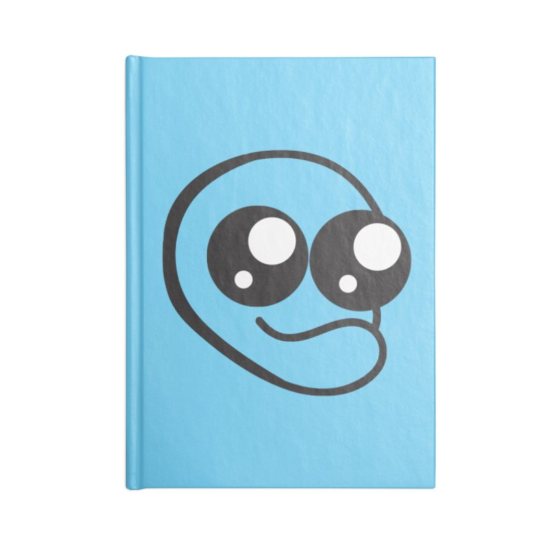 The Wide Eyed Lad Accessories Notebook by Lanky Lad Apparel