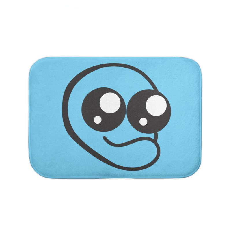 The Wide Eyed Lad Home Bath Mat by Lanky Lad Apparel