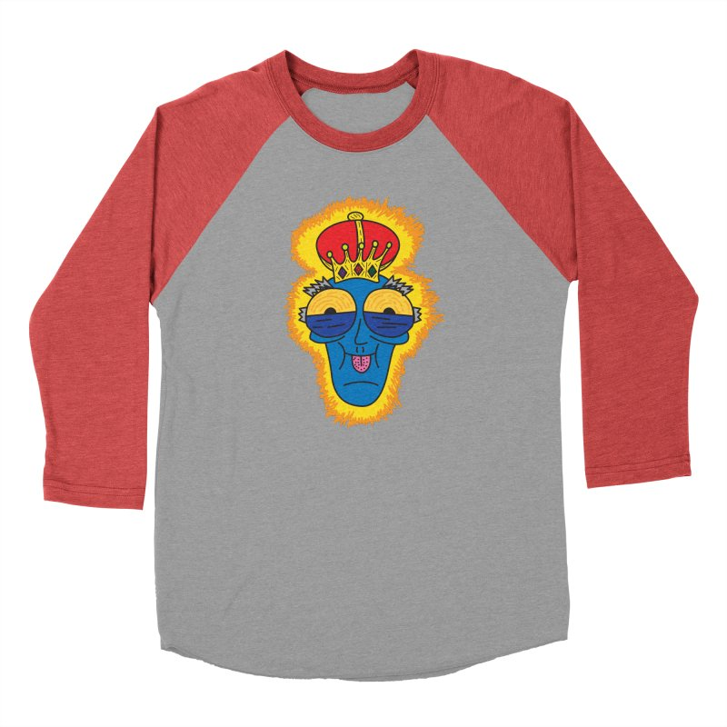 The Happy Blue King Men's Longsleeve T-Shirt by Lanky Lad Apparel