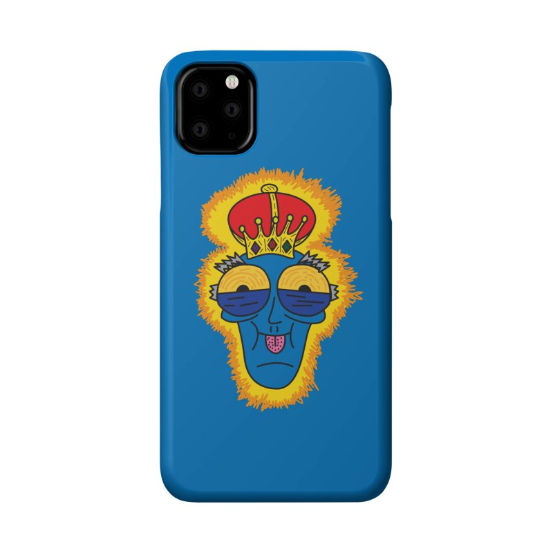 The Happy Blue King Accessories Phone Case by Lanky Lad Apparel