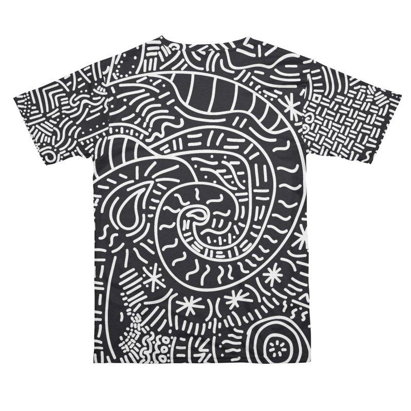 Tribal Doodle Men's Cut & Sew by Lanky Lad Apparel