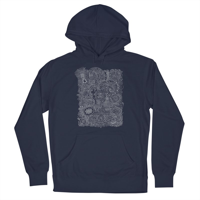Tribal Doodle Men's Pullover Hoody by Lanky Lad Apparel