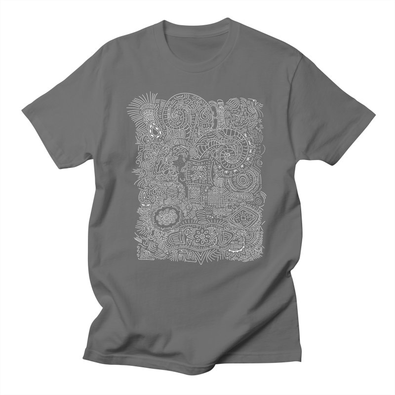 Tribal Doodle Men's T-Shirt by Lanky Lad Apparel