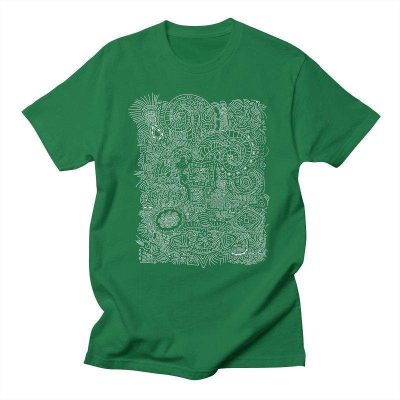 Tribal Doodle Men's T-Shirt by Lanky Lad Apparel