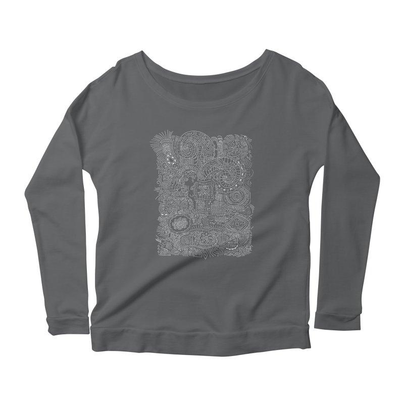 Tribal Doodle Women's Longsleeve T-Shirt by Lanky Lad Apparel