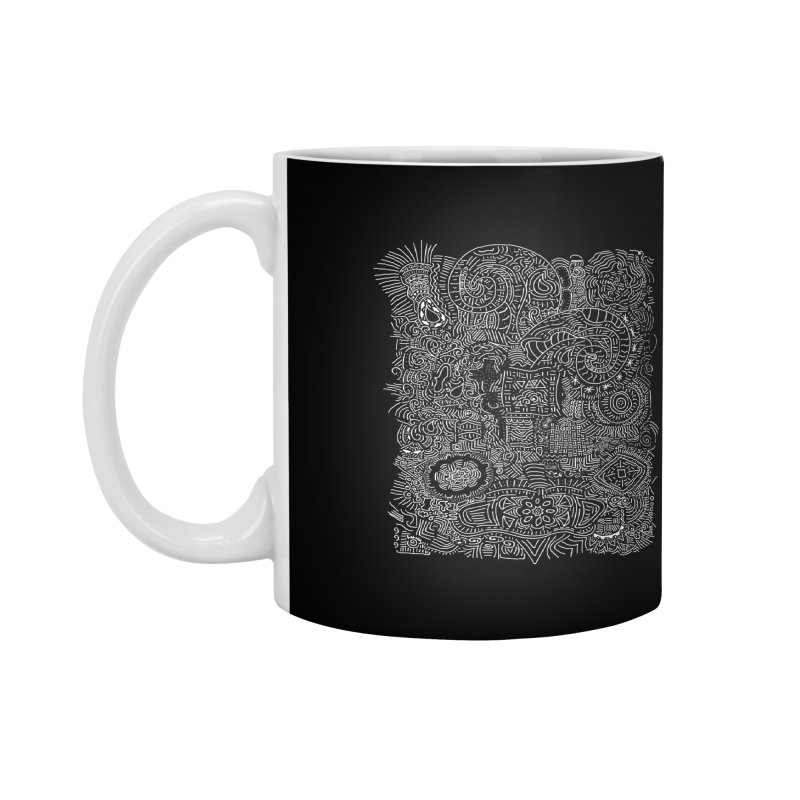 Tribal Doodle Accessories Mug by Lanky Lad Apparel
