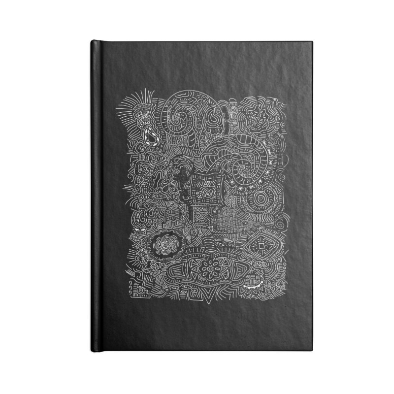 Tribal Doodle Accessories Notebook by Lanky Lad Apparel