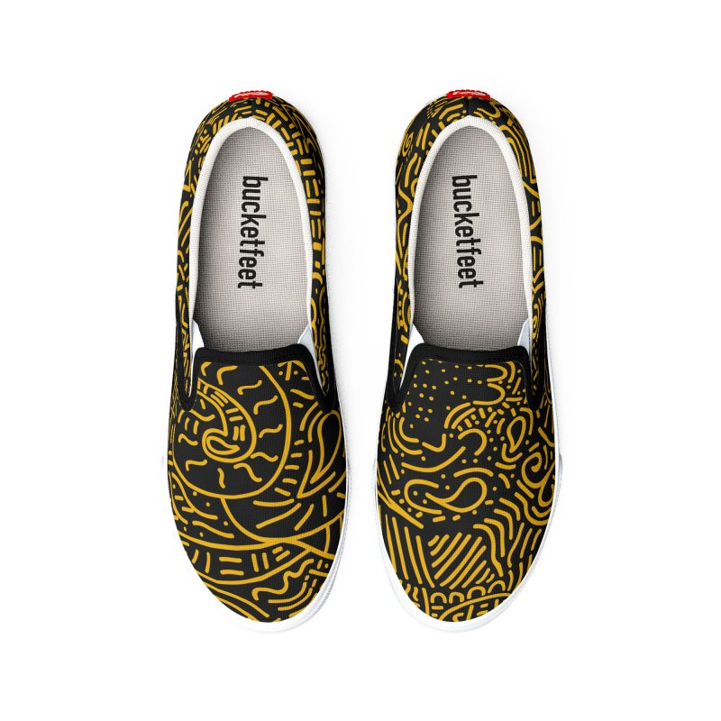 Tribal Doodle Women's Shoes by Lanky Lad Apparel