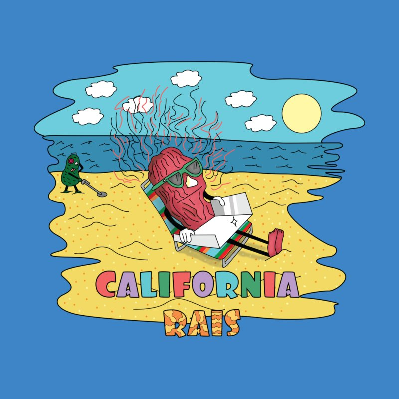 California Rais Accessories Sticker by Lanky Lad Apparel