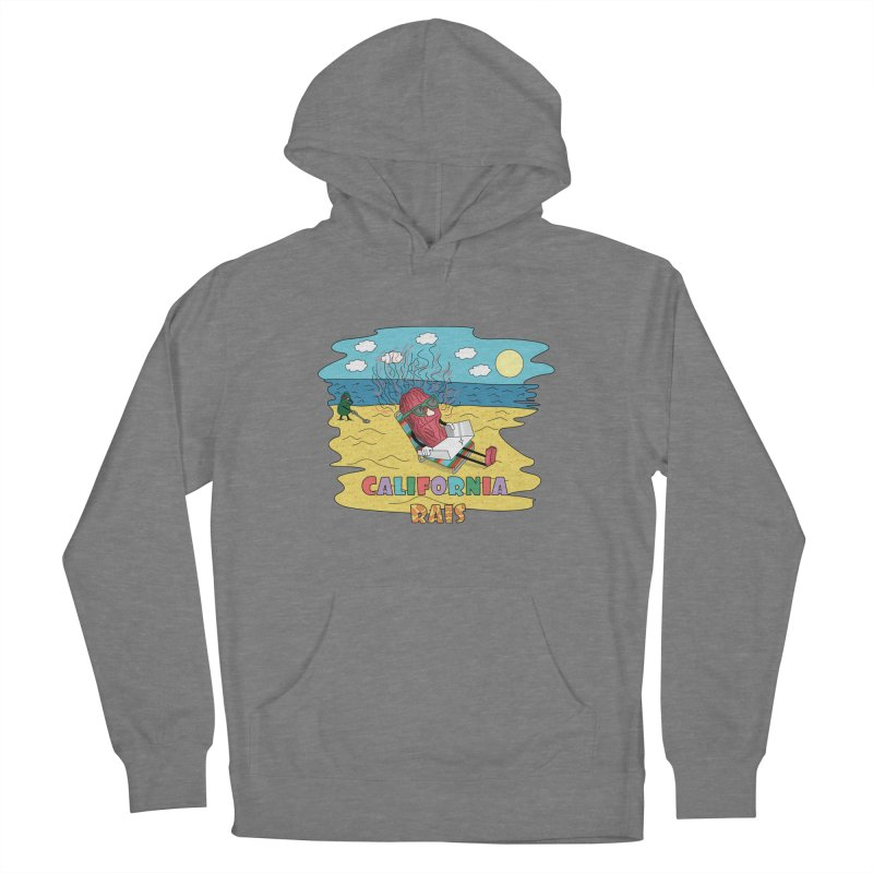 California Rais Women's Pullover Hoody by Lanky Lad Apparel