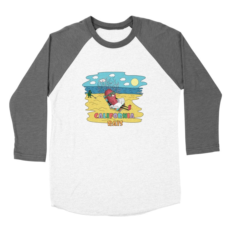 California Rais Women's Longsleeve T-Shirt by Lanky Lad Apparel