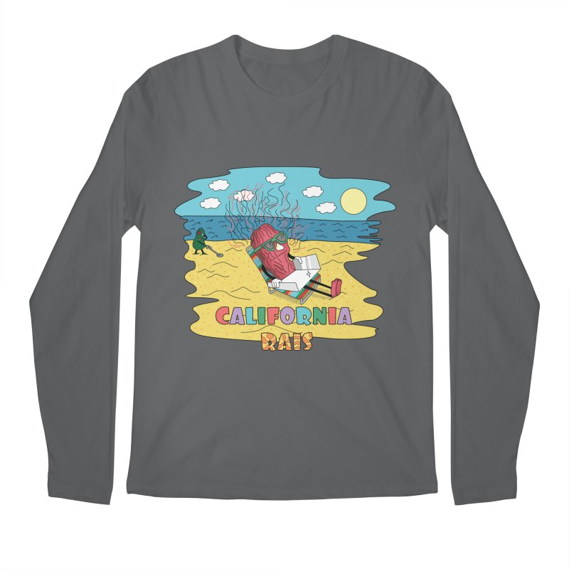 California Rais Men's Longsleeve T-Shirt by Lanky Lad Apparel
