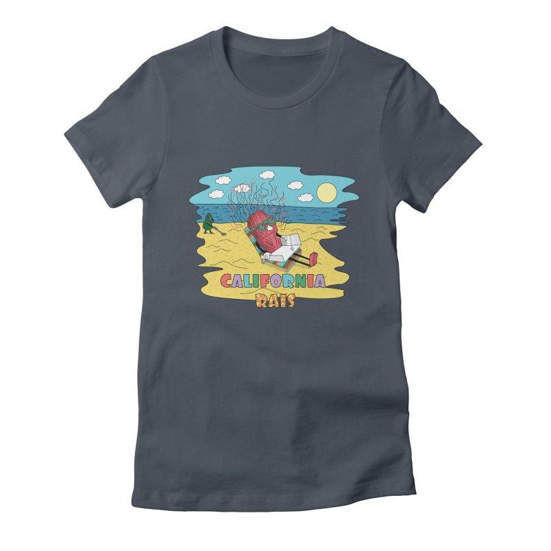 California Rais Women's T-Shirt by Lanky Lad Apparel