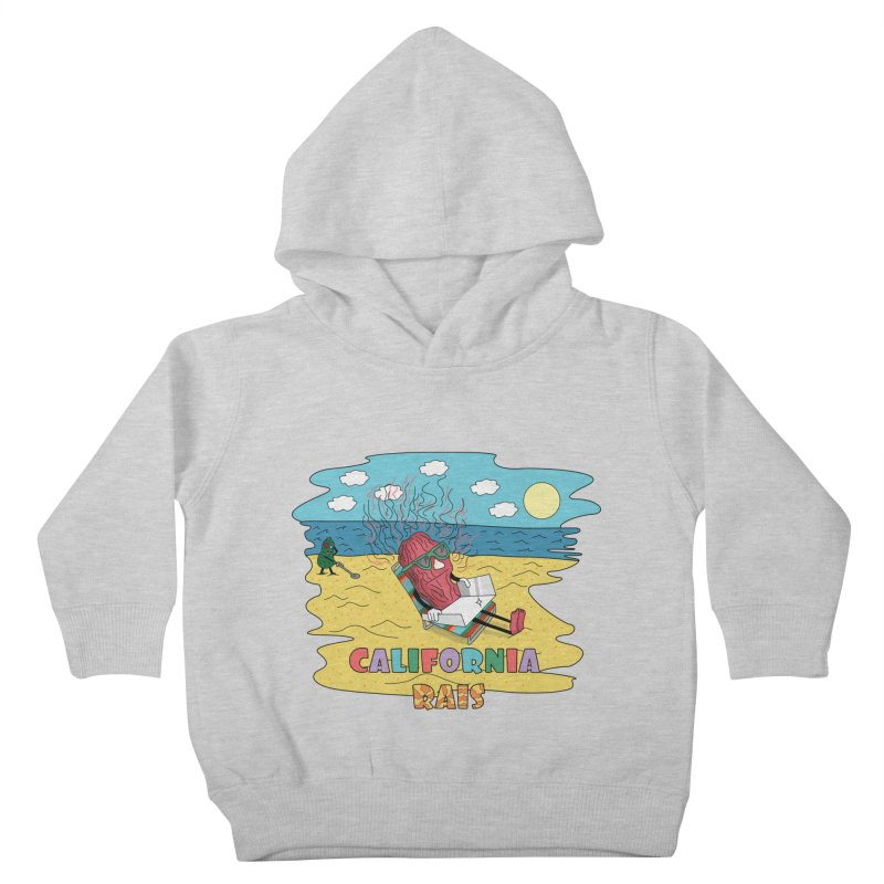 California Rais Kids Toddler Pullover Hoody by Lanky Lad Apparel