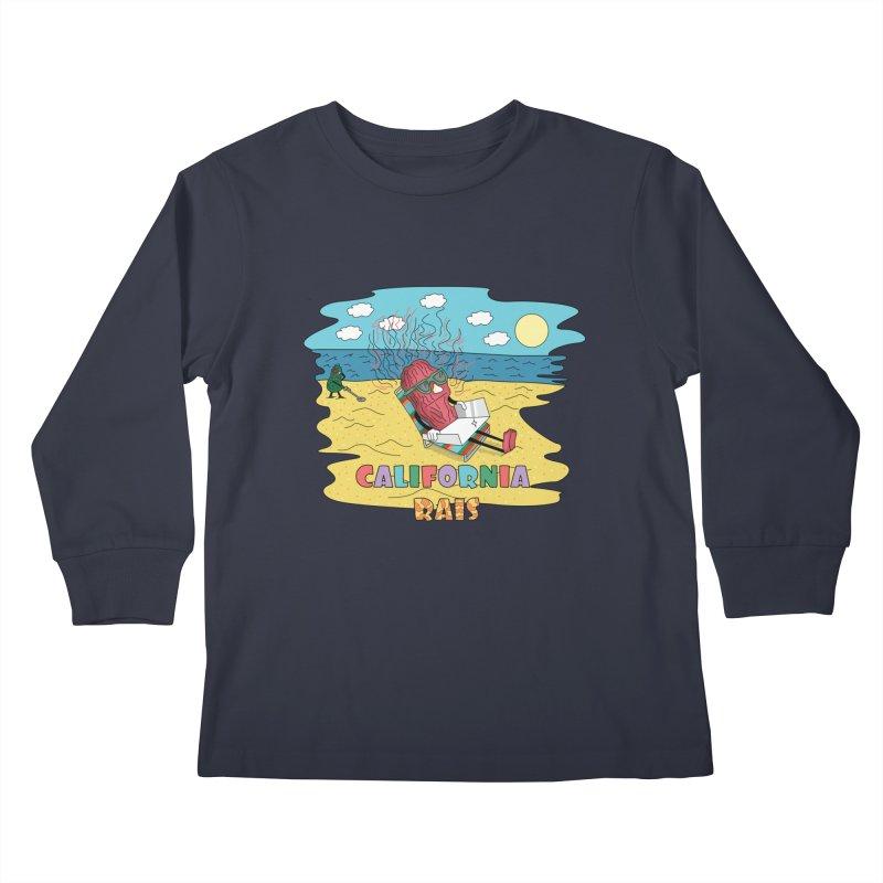 California Rais Kids Longsleeve T-Shirt by Lanky Lad Apparel