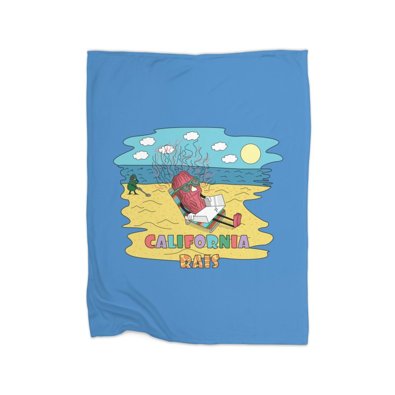 California Rais Home Blanket by Lanky Lad Apparel