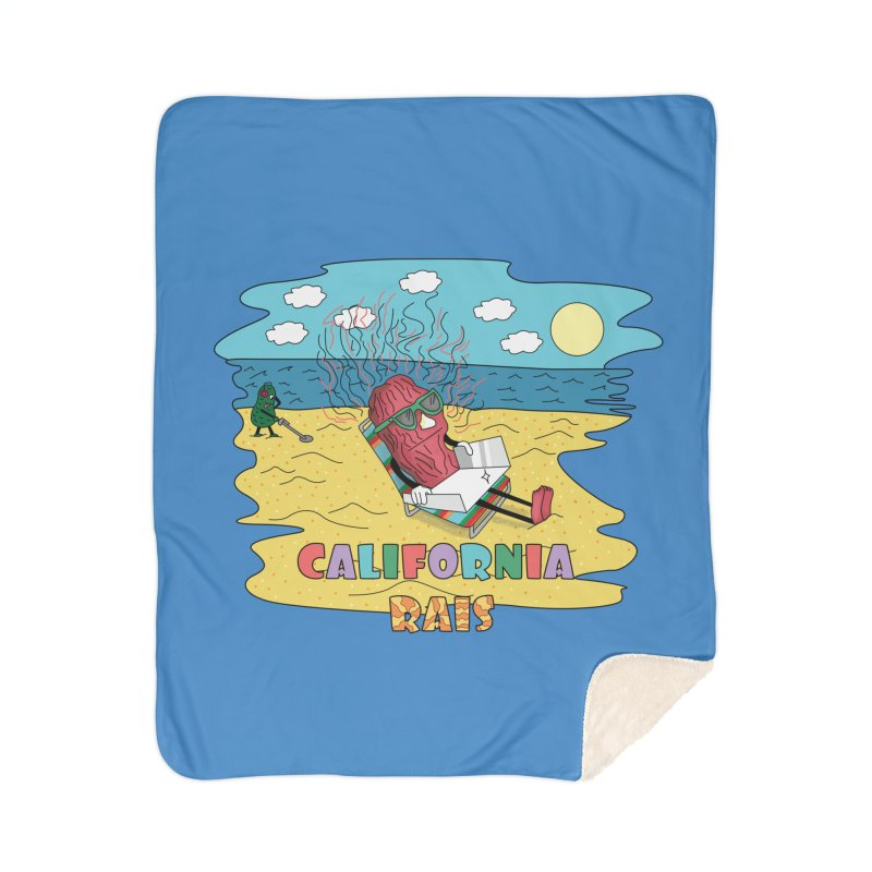 California Rais Home Blanket by Lanky Lad Apparel