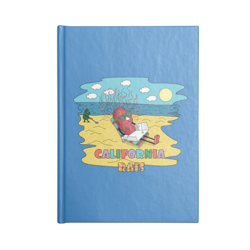 California Rais Accessories Notebook by Lanky Lad Apparel