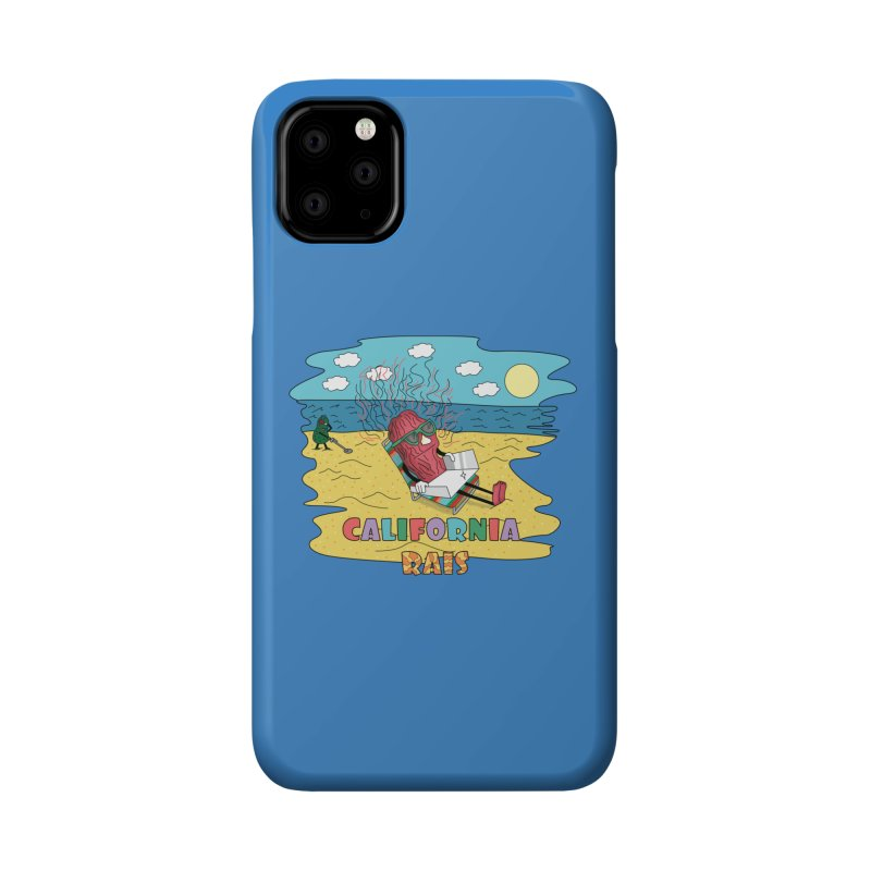 California Rais Accessories Phone Case by Lanky Lad Apparel