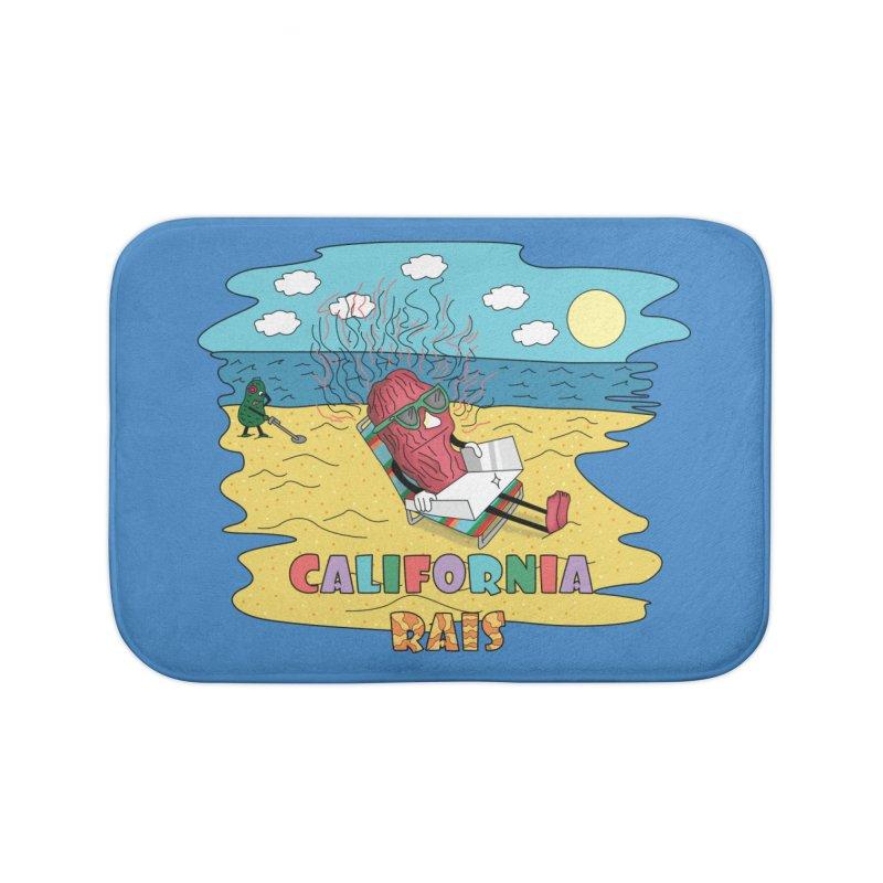 California Rais Home Bath Mat by Lanky Lad Apparel