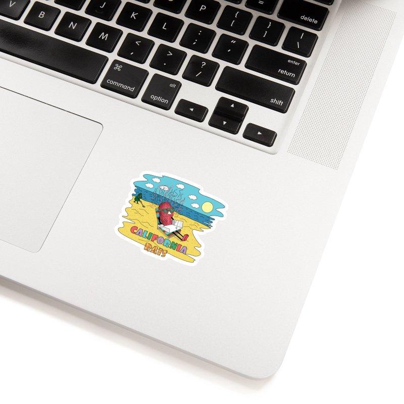 California Rais Accessories Sticker by Lanky Lad Apparel
