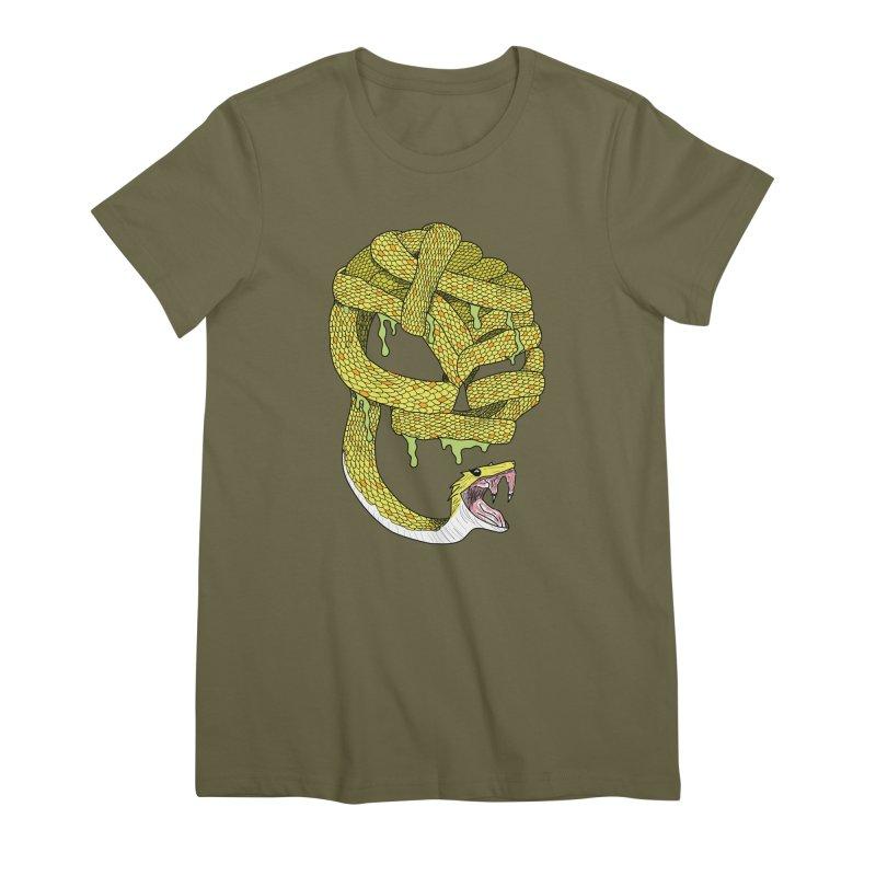 Poisonous Women's T-Shirt by Lanky Lad Apparel