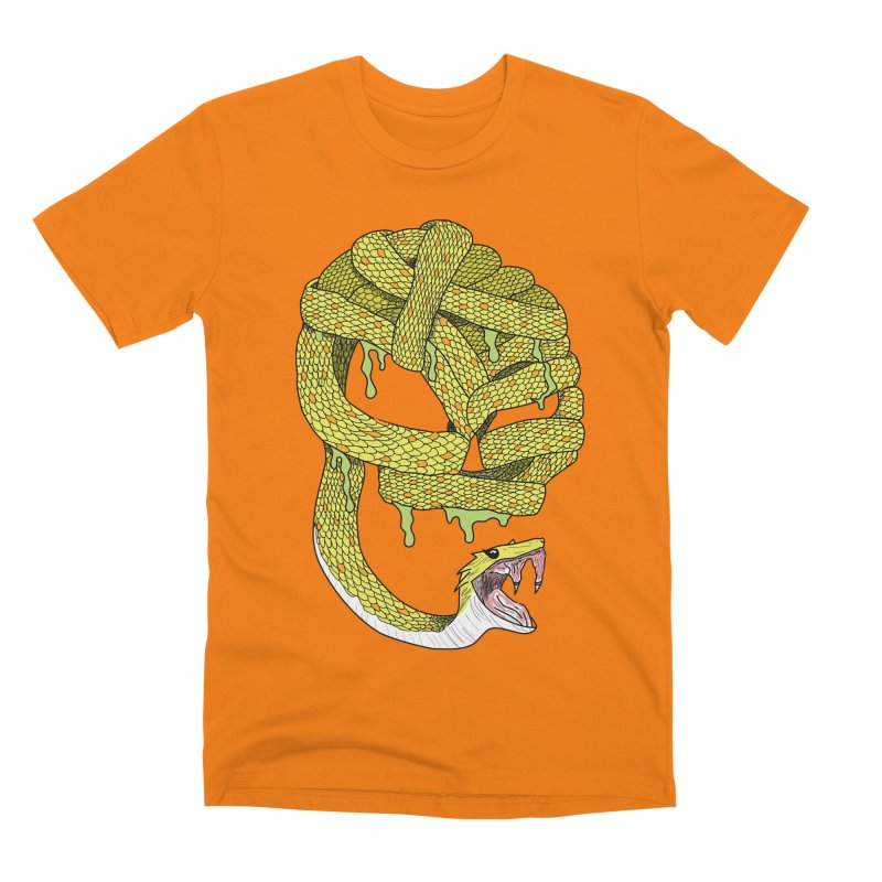 Poisonous Men's T-Shirt by Lanky Lad Apparel