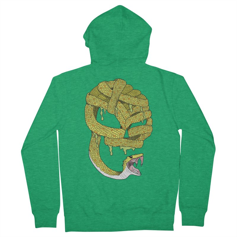 Poisonous Men's Zip-Up Hoody by Lanky Lad Apparel