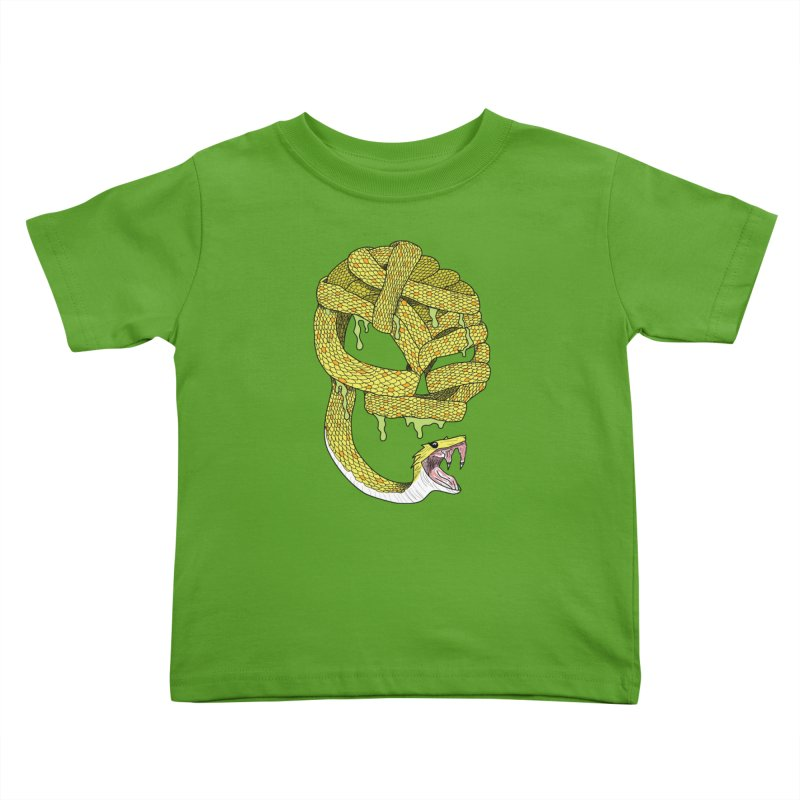 Poisonous Kids Toddler T-Shirt by Lanky Lad Apparel