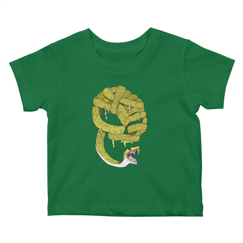 Poisonous Kids Baby T-Shirt by Lanky Lad Apparel